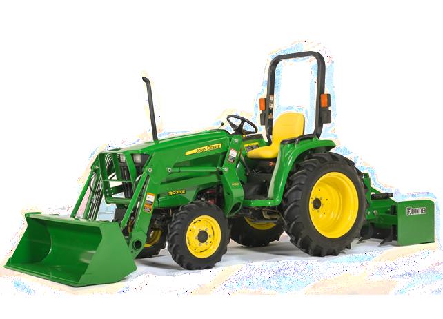John Deere 3038E Compact Tractor 3000 Series Compact Utility Tractors ...