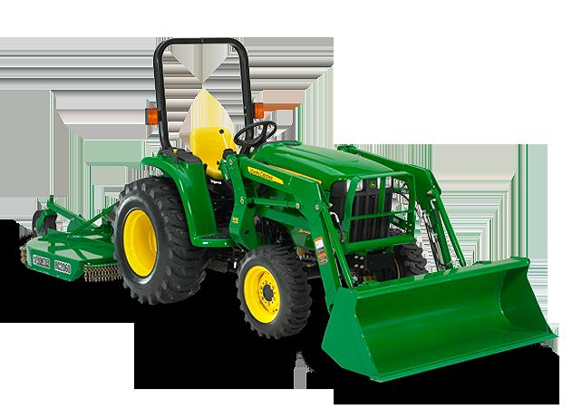 Compact Utility Tractors│3038E│John Deere CA
