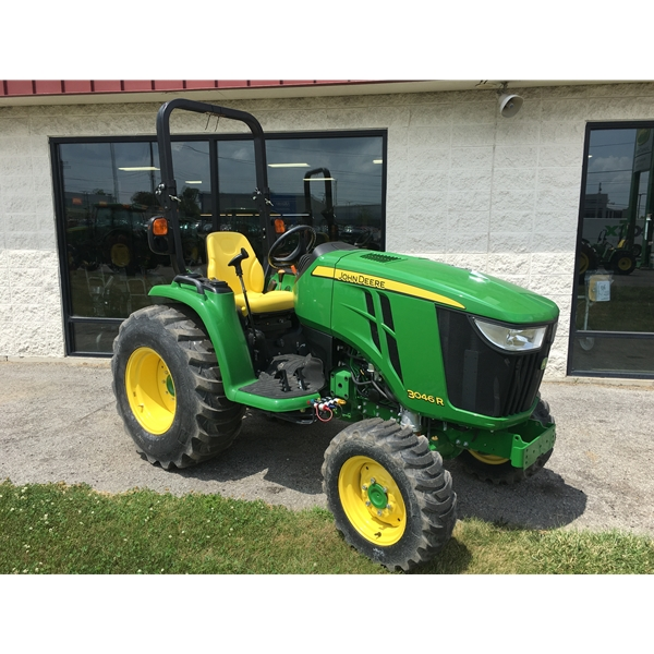 HOME Compact Utility Tractors John Deere 3046R Compact Utility Tractor