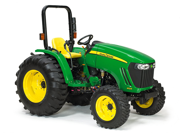 John Deere 4105 Compact Utility Tractor 4000 Series Compact Utility ...