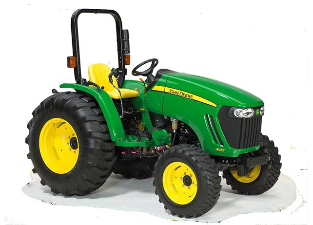 Compact Utility Tractors│4105│ John Deere CA