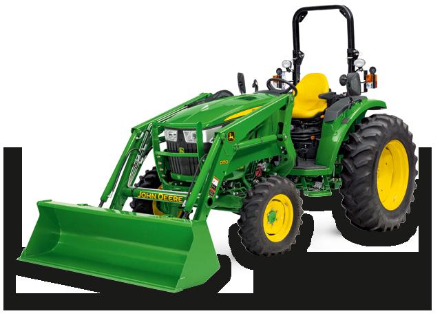 4066M COMPACT UTILITY TRACTOR Dublin Grass Machinery John Deere dealer ...