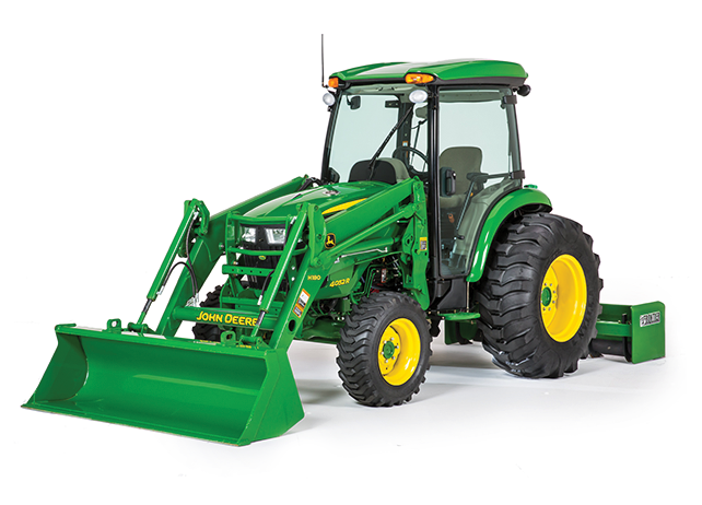HOME Compact Utility Tractors John Deere 4066R Compact Utility Tractor