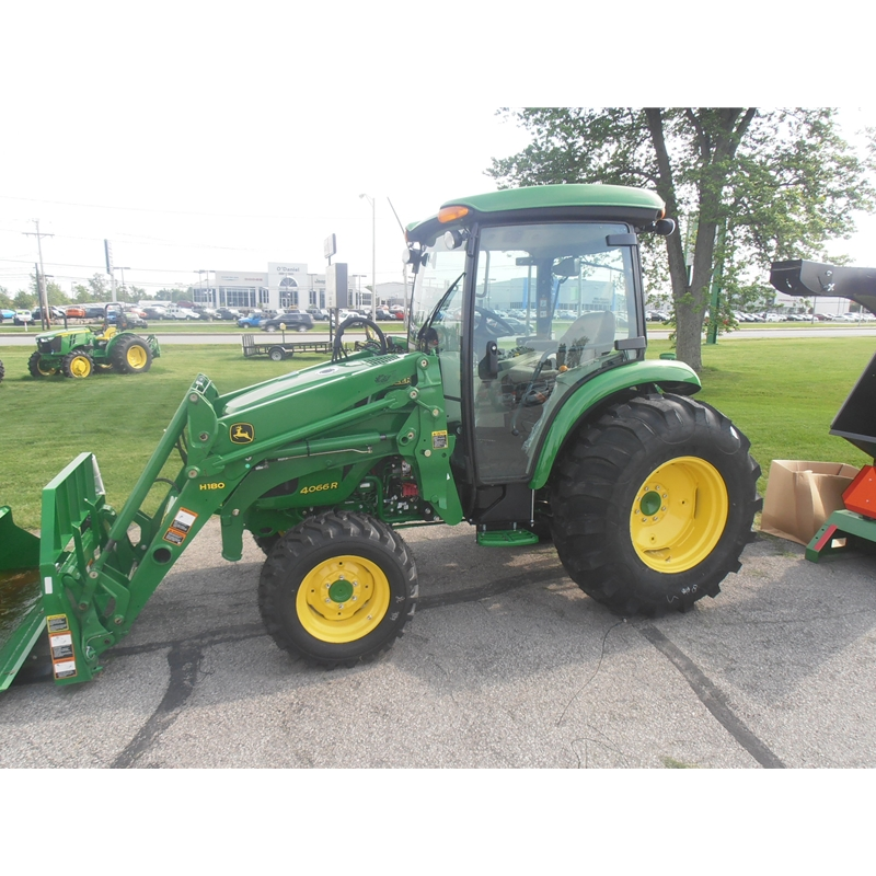 HOME Compact Utility Tractors John Deere 4066R Cab Utility Tractor