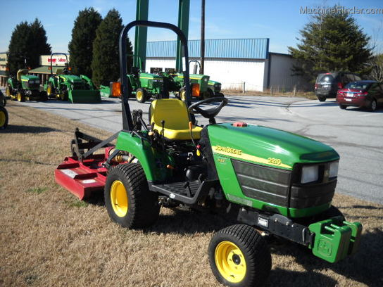 2005 John Deere 2210 Tractors - Compact (1-40hp.) - John Deere ...