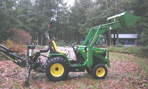 Buy 2003 john deere 4110 4wd tractor loader backhoe - Buying Leads