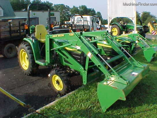 used john deere 4210 compact tractor 1 40hp new john deere 4210 e ...