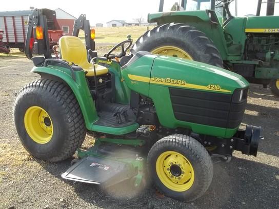 2002 John Deere 4210 Tractors - Compact (1-40hp.) - John Deere ...