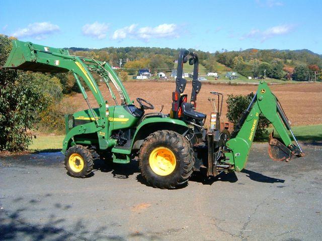 John Deere 4210 loader backhoe 4wd LITTLE ROCK ARKANSAS Farming Ranch ...