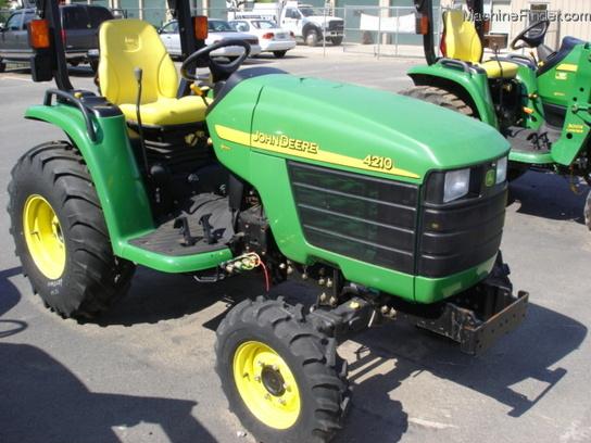 2005 John Deere 4210 Tractors - Compact (1-40hp.) - John Deere ...