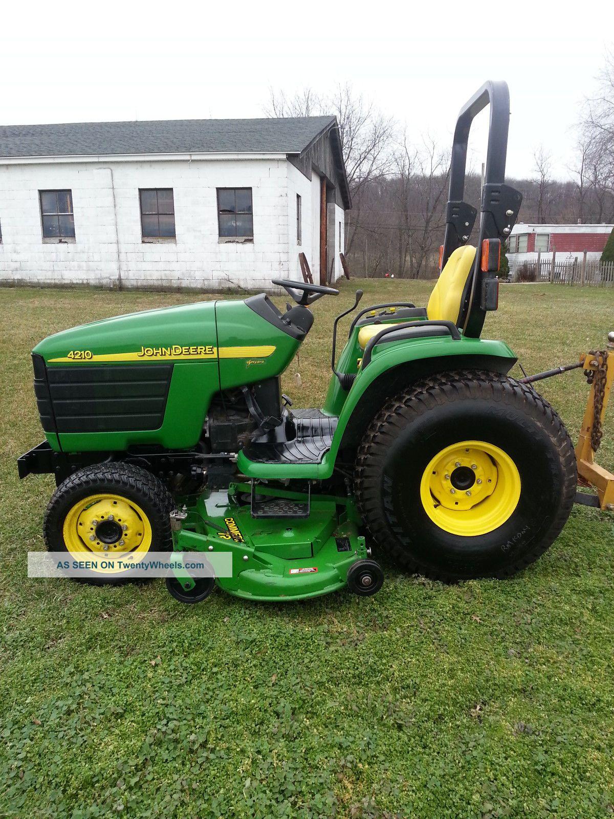 John Deere 4210 Compact Tractor Tractors photo 2