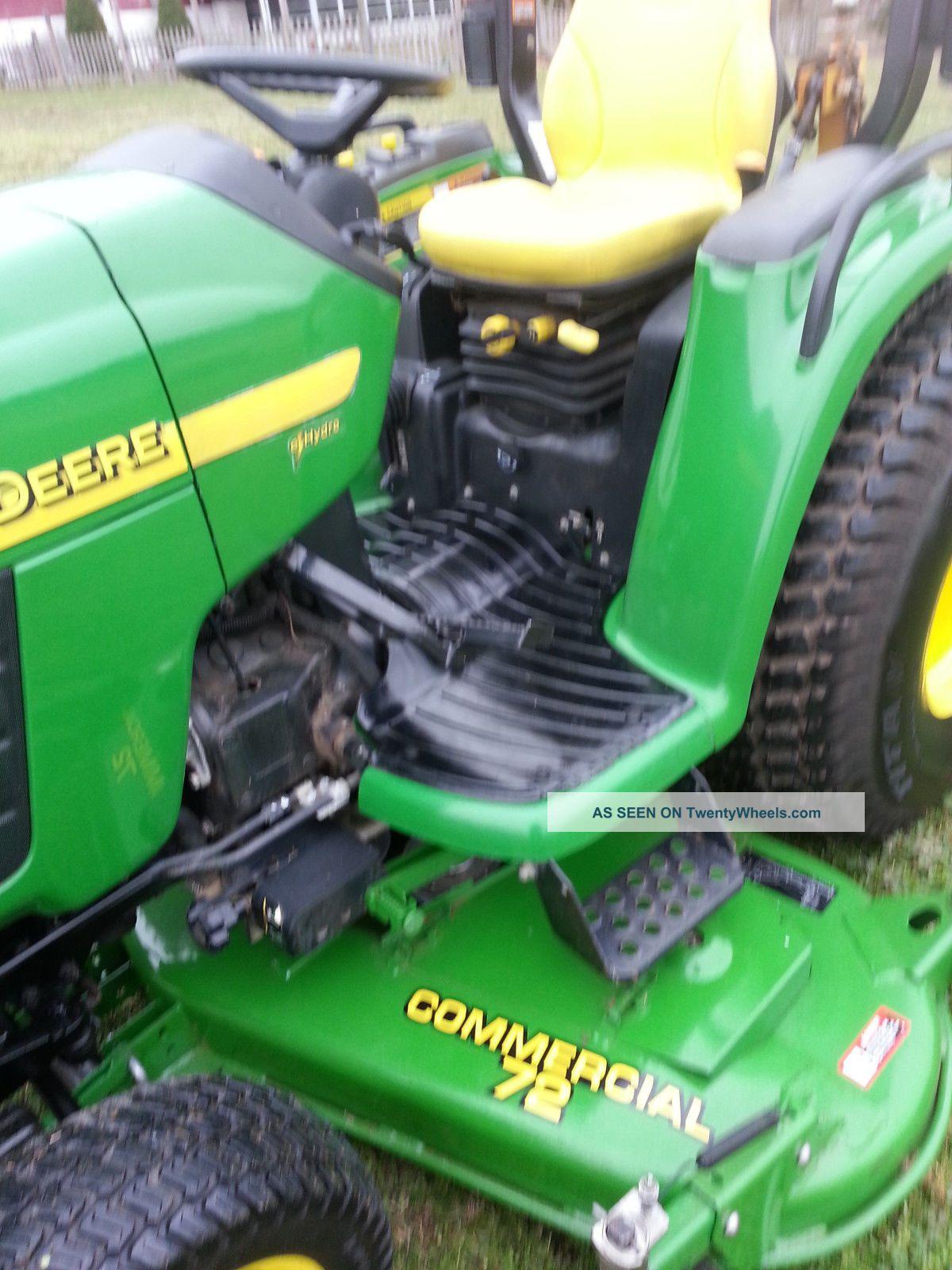 John Deere 4210 Compact Tractor Tractors photo 3