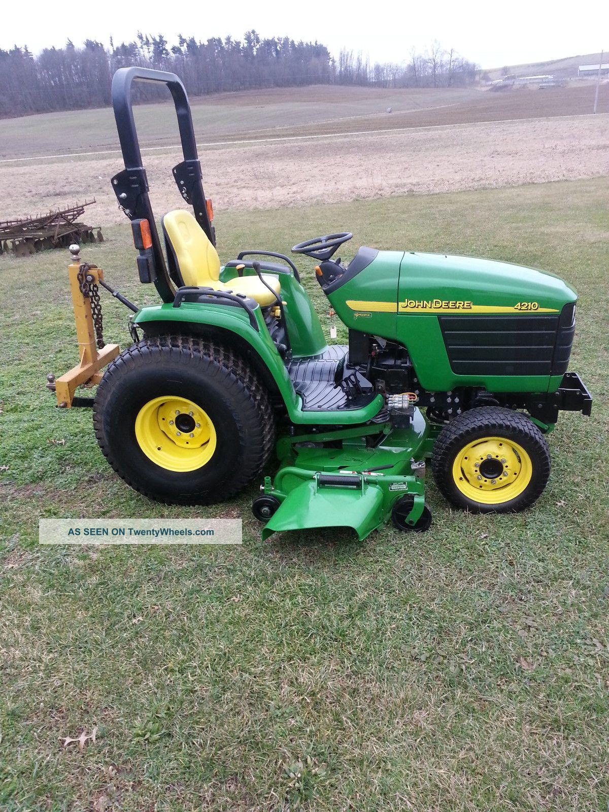 John Deere 4210 Compact Tractor Tractors photo