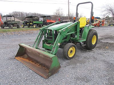 John Deere 4210 4x4 Hydro Compact Tractor W/ Loader! Coming In Soon!