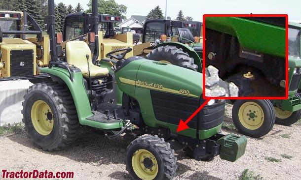 TractorData.com John Deere 4310 tractor information