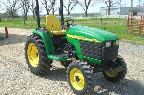 2002 John Deere 4310 Tractors - Compact (1-40hp.) - John Deere ...