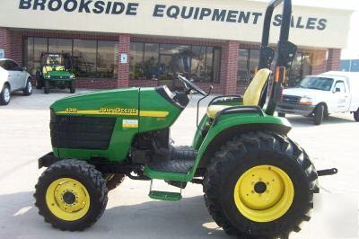 John deere 4310 32HP 4WD compact hydro tractor