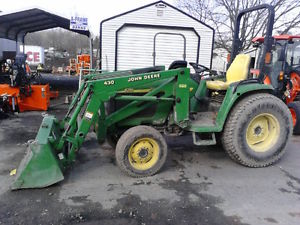 2003 John Deere 4310 30HP 4WD Tractor with 430 Front Loader ...