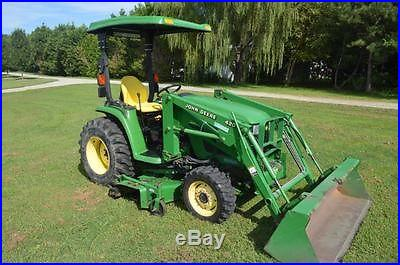 John Deere 4310 4wd eHydro Diesel 31hp Compact Tractor Loader and 72 ...