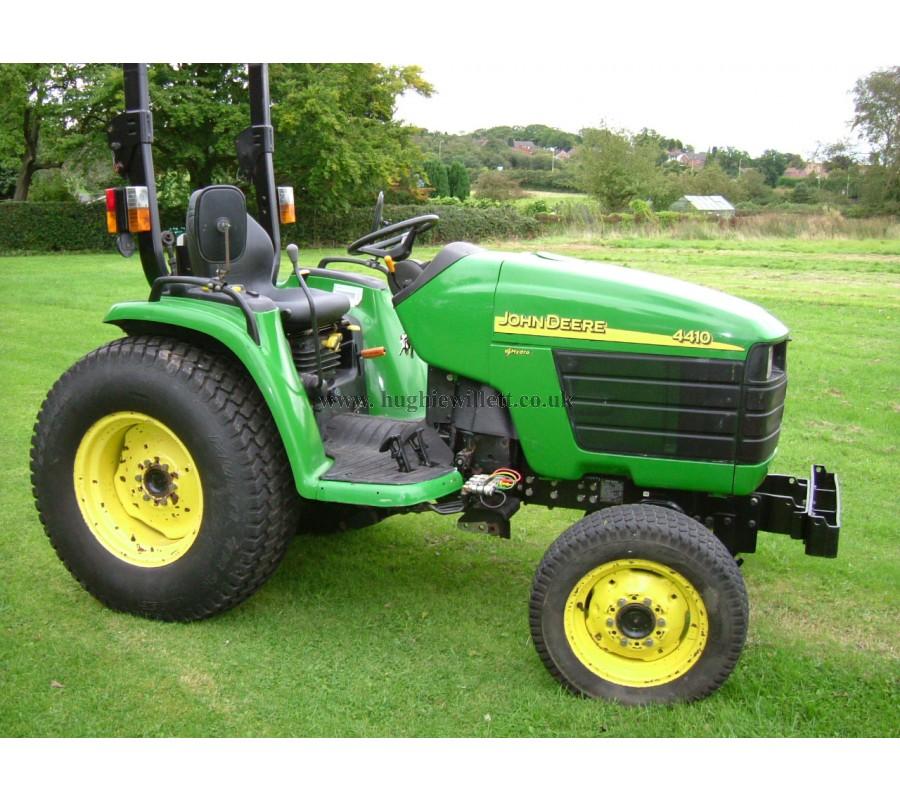 John Deere 4410 Compact tractor,  John Deere 4410 Tractor 4WD,- John ...