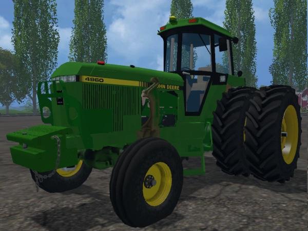JOHN DEERE 4960 2WD FRONT LOADER V1.0 FS 15 Mod download