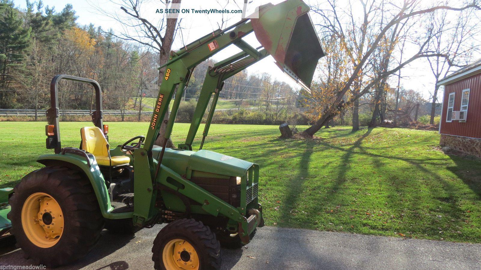 2003 John Deere 4610 4x4 Compact Tractor W/ Loader Hydrostatic 43 Hp ...