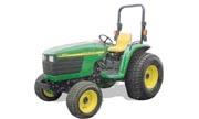 TractorData.com John Deere 4610 tractor dimensions information