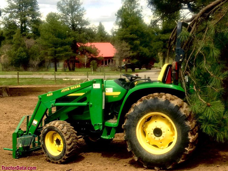TractorData.com John Deere 4610 tractor photos information