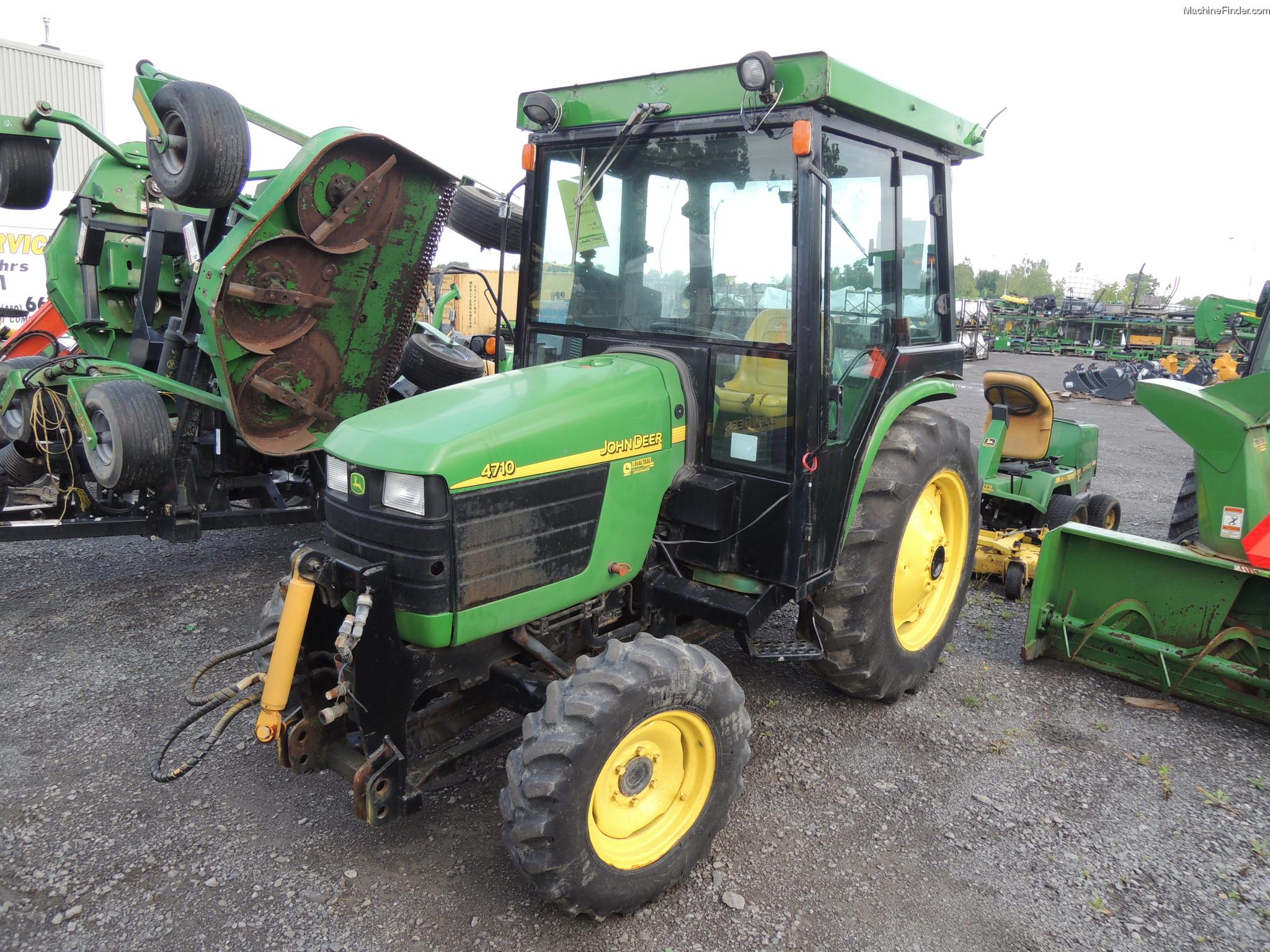 2002 John Deere 4710 Tractors - Compact (1-40hp.) - John Deere ...