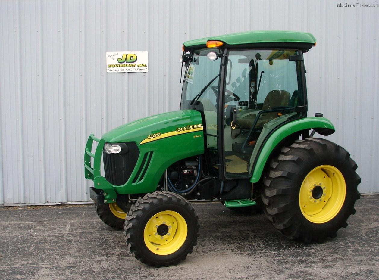 2011 John Deere 4320 Tractors - Compact (1-40hp.) - John Deere ...