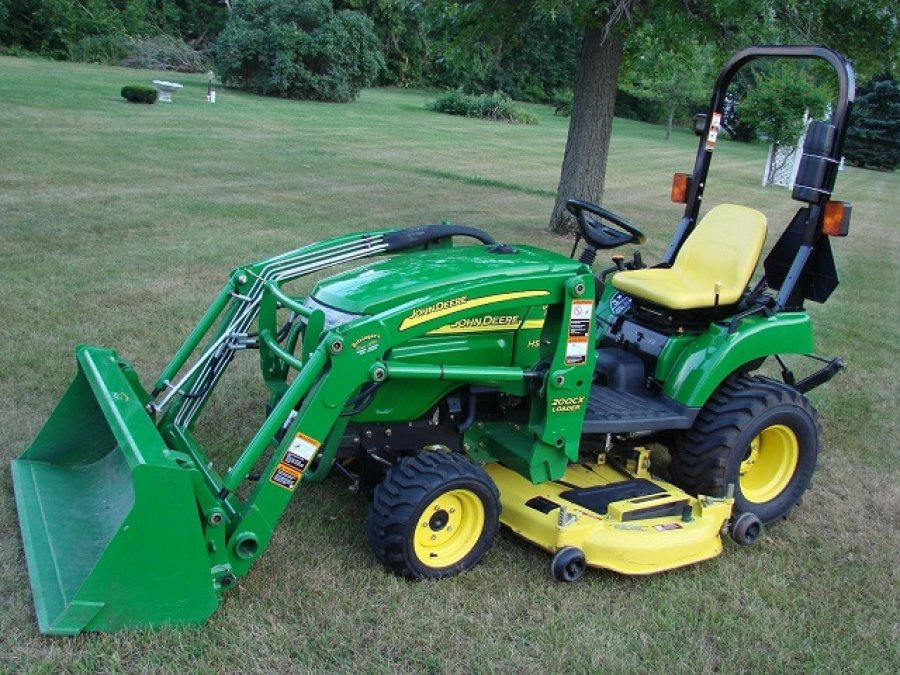 2007 John Deere 2305 Sub Compact Utility Tractor Ricer Equipment ...