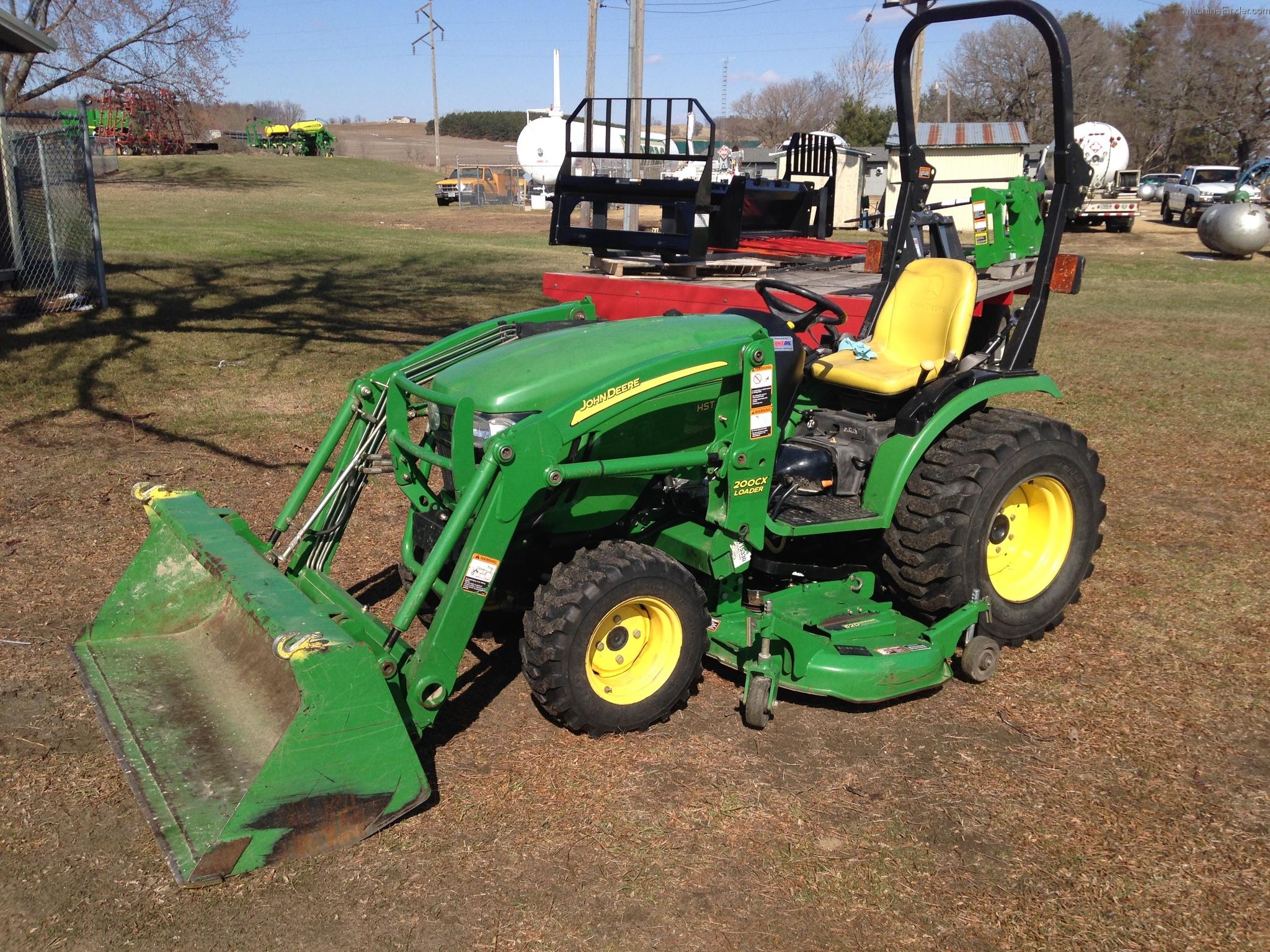 2007 John Deere 2520 Tractors - Compact (1-40hp.) - John Deere ...