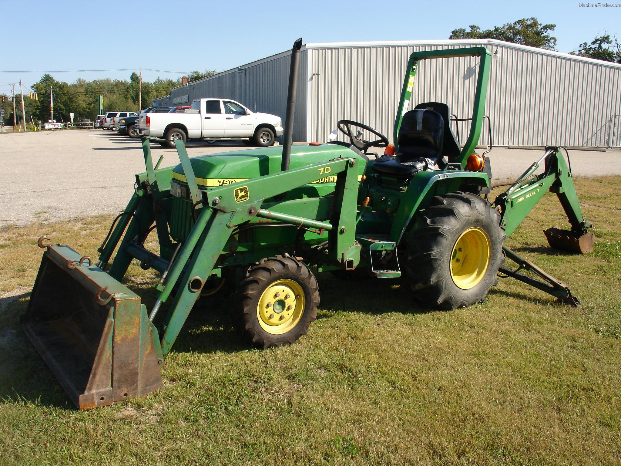 2001 John Deere 790 Tractors - Compact (1-40hp.) - John Deere ...