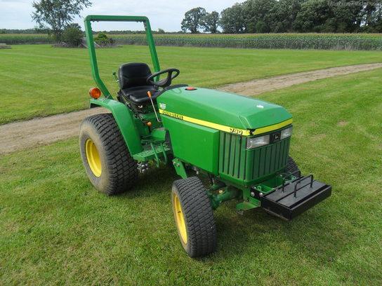 2004 John Deere 790 - Compact Utility Tractors - John Deere ...