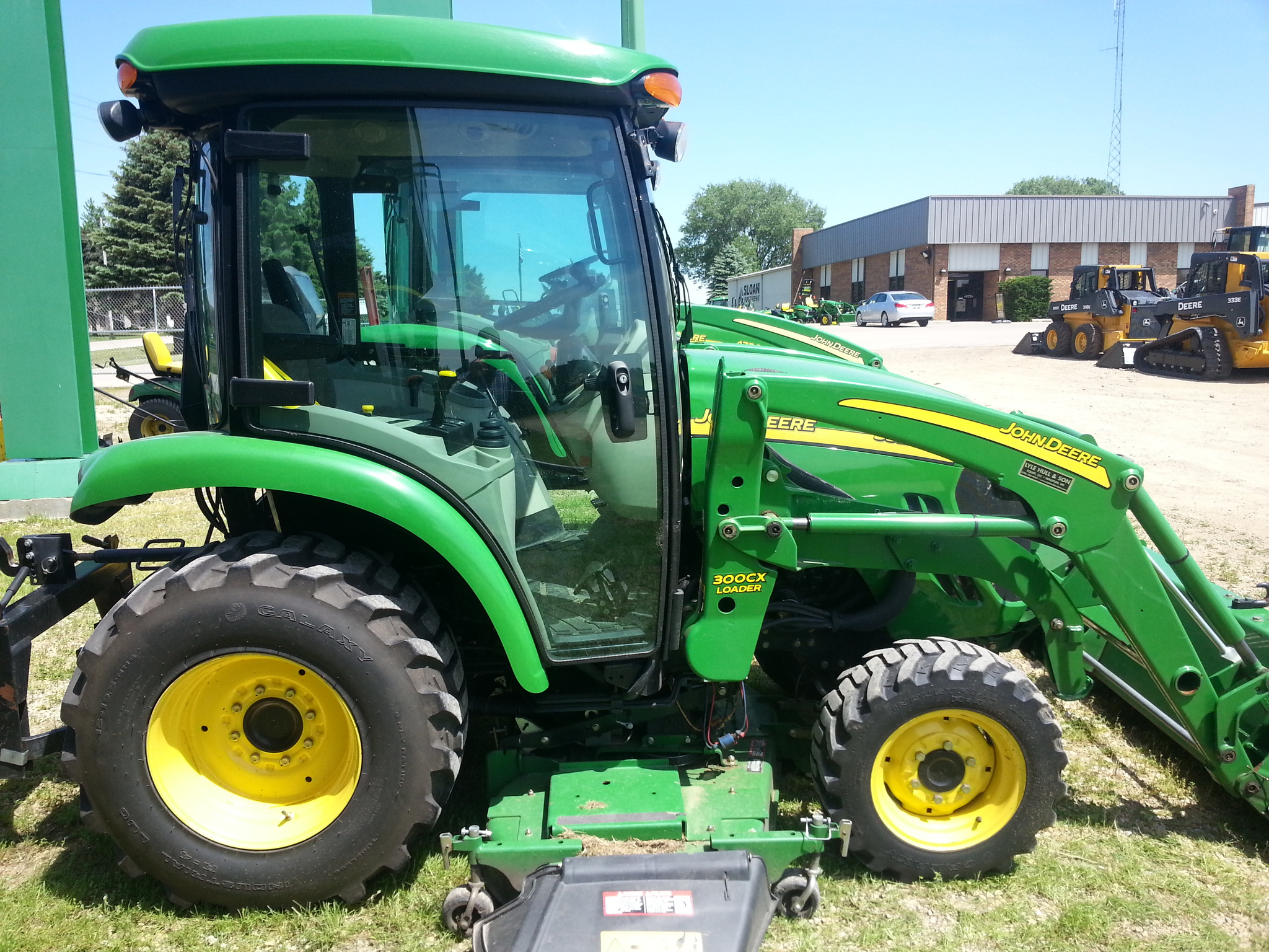 John Deere 3520 Compact Utility Tractors for Sale   [47457]