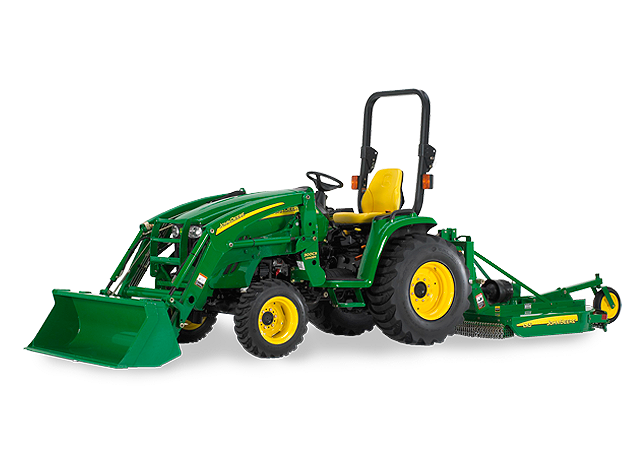 John Deere 3720 Tractor - Review of a Unique Compact Utility Tractor