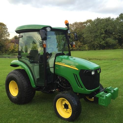John Deere 3720 Compact Tractor - Bertie Green