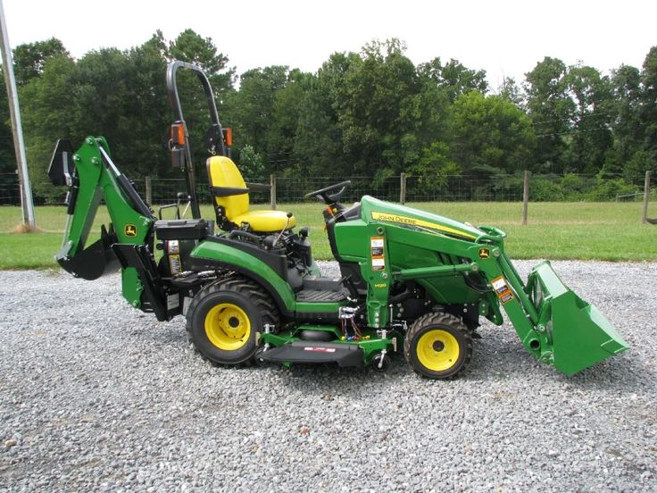 John Deere 1025R with Front End Loader and Backhoe | FARM EQUIPMENT ...
