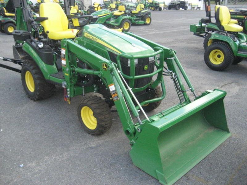 2015 John Deere 1025R TLB Tractor/Loader/Backhoe for Sale | Fastline