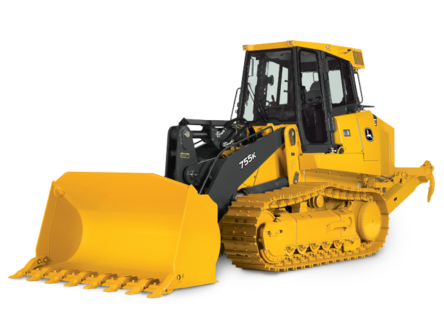 Crawler Loader with Quiet Cab | 755K | John Deere US