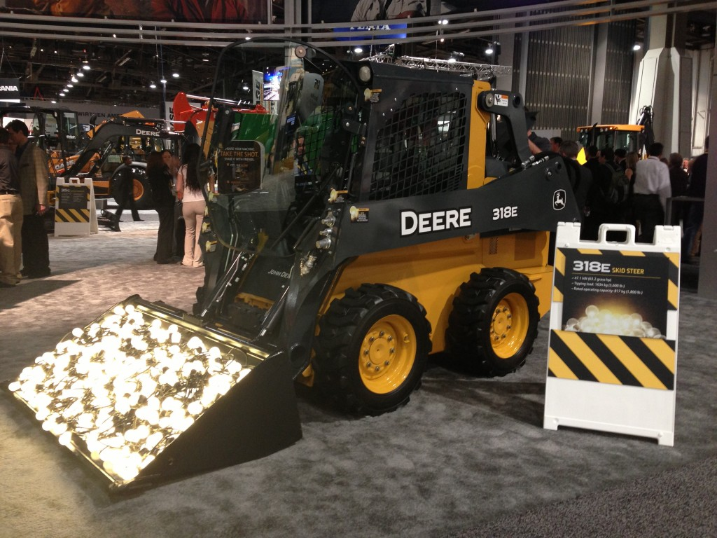 John Deere intros E Series skid steers, CTLs at World of Concrete ...