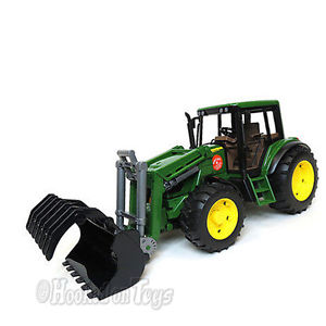 Details about Bruder John Deere 6920 w/ Front Loader Toy Tractor Farm ...