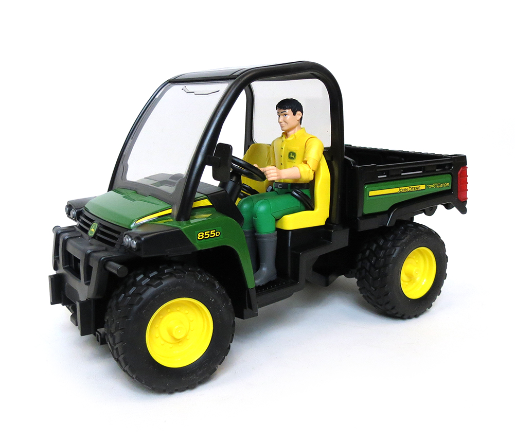 16th John Deere Gator XUV 855D with Driver by Bruder