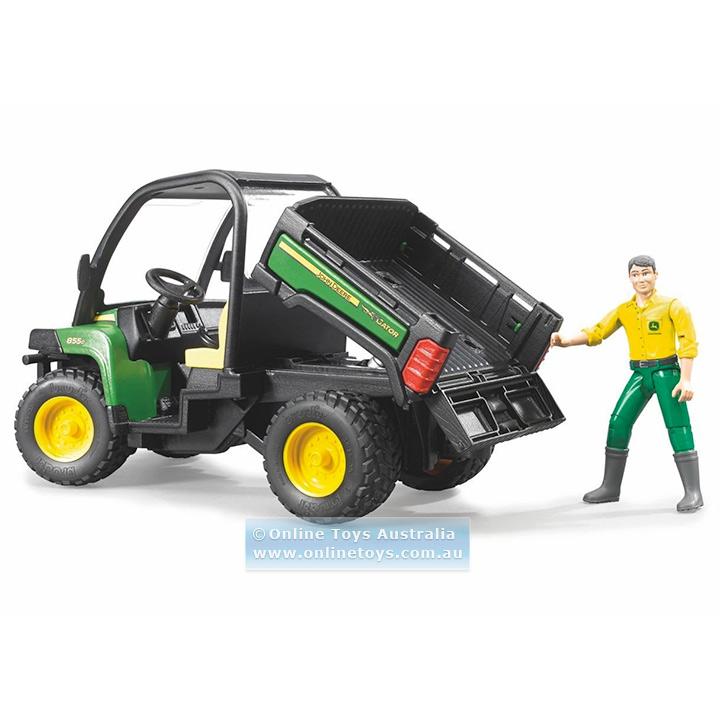 Bruder - John Deere Gator XUV 855D With Driver - Online Toys Australia