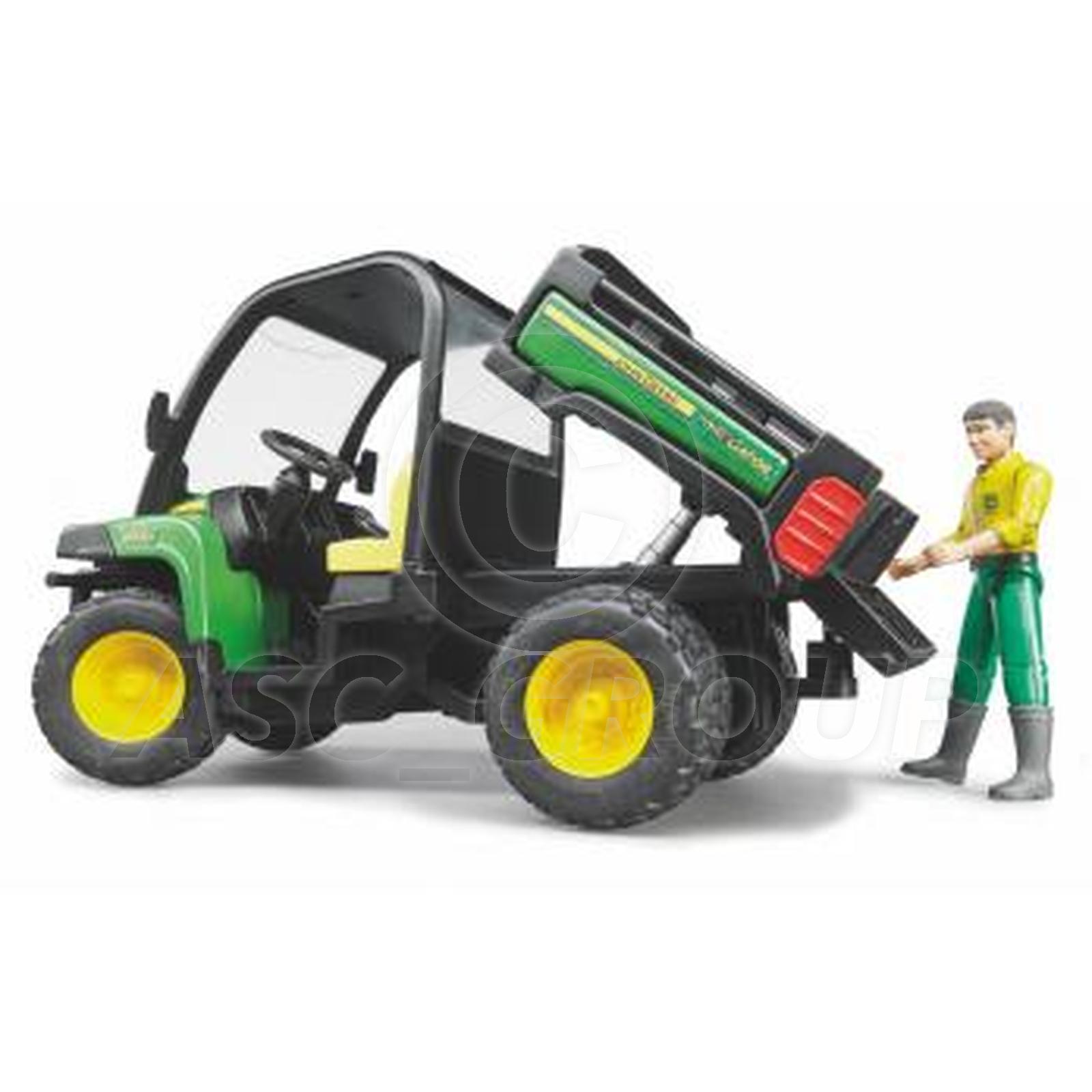 Bruder Toys 02490 Pro Series John Deere GATOR ATV XUV 855D + Driver 1 ...