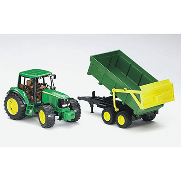 John Deere Bruder 16th scale 6920 with Trailer - LP53294