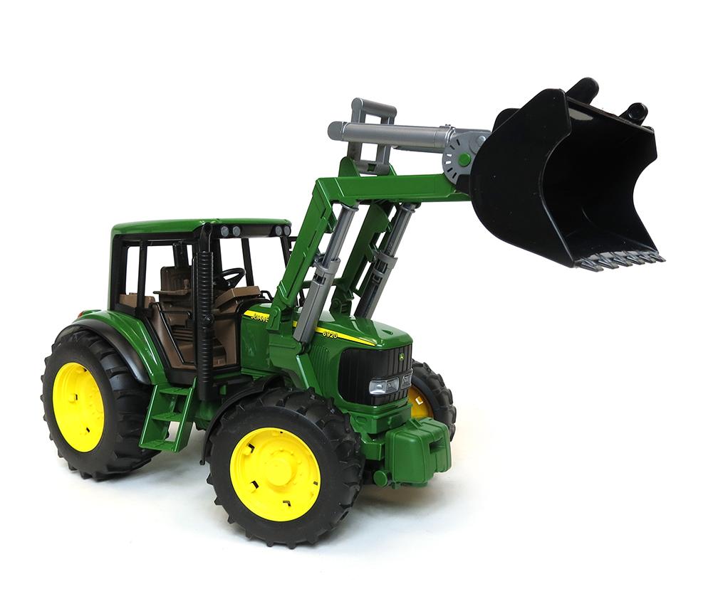 bruder john deere 6920 tractor with front loader 33 00 bruder ...