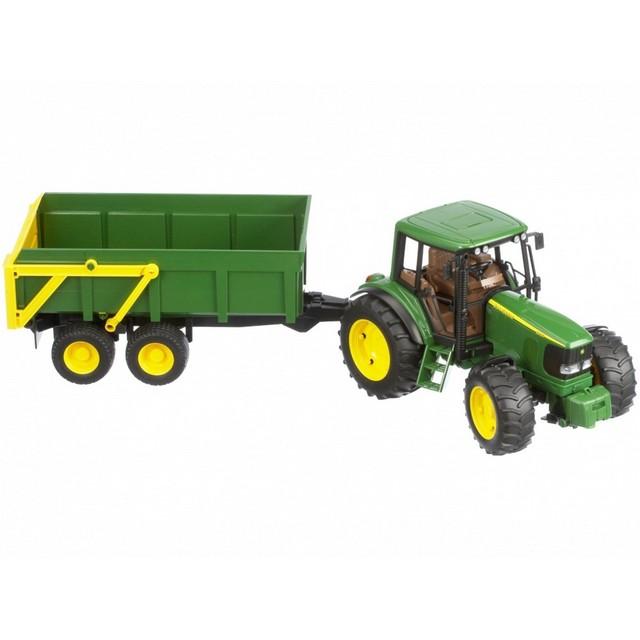 Bruder John Deere 6920 with Tipping Trailer 02058 - Farm Toys Online