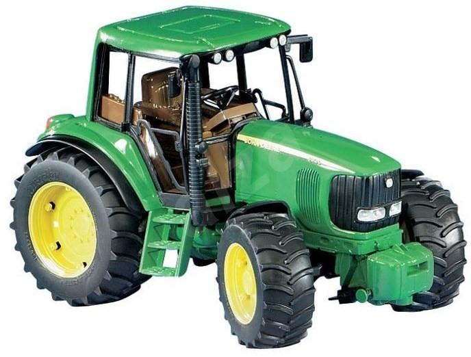 BRUDER Farmer - John Deere 6920 with tipping trailer - Car | Alzashop ...