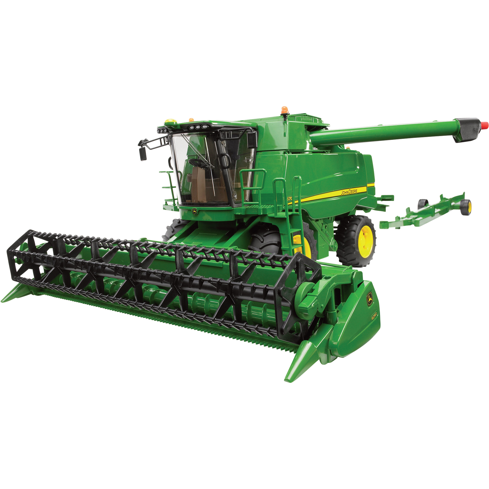 Bruder John Deere Combine Harvester T670i - 1:16 Scale, Model# 09804 ...